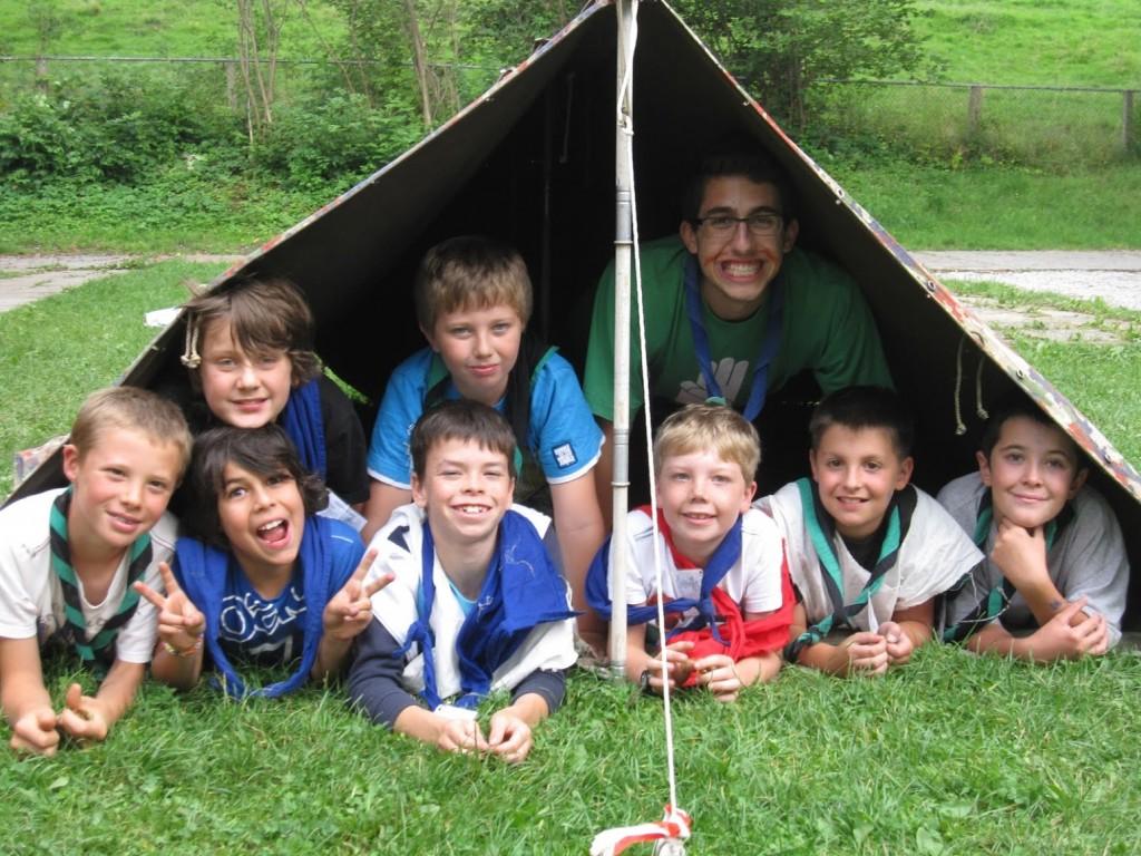 Camp louveteaux TDGL