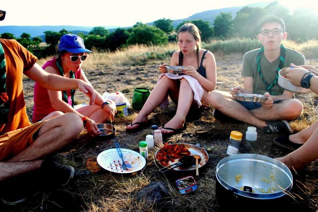 repas en provence 2015