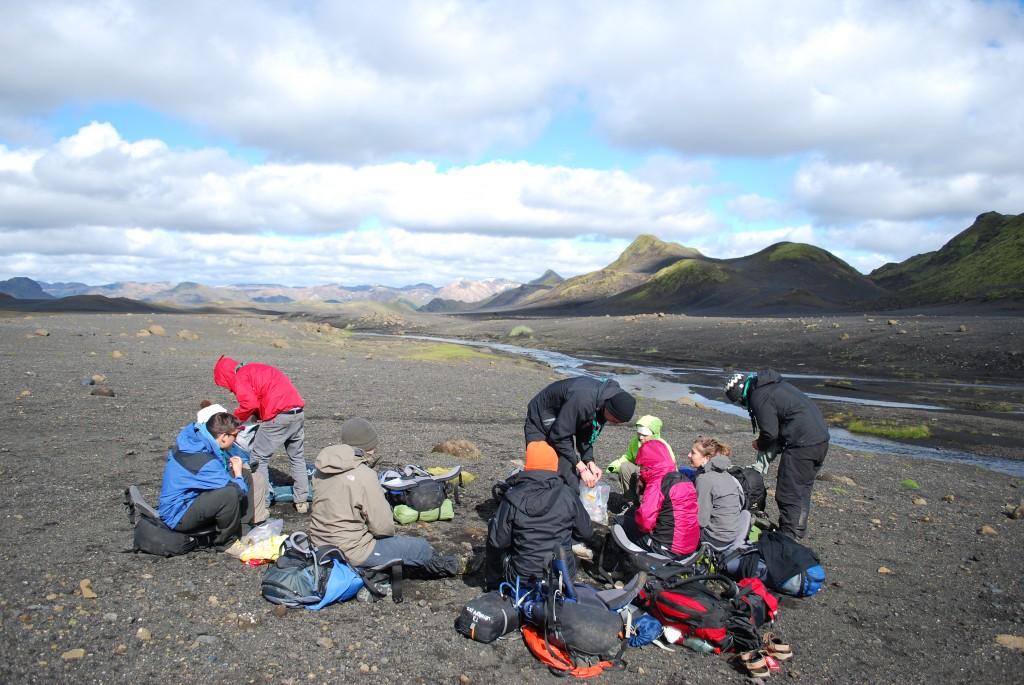 une pause dans la plaine, islande 2013