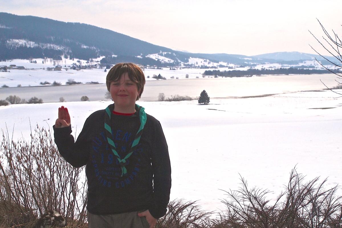 N° 12 : Lac des Rousses le 20.03.16 : 1059 m