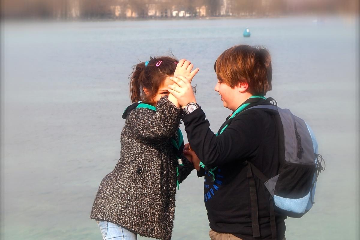 N°13: Lac d'Annecy le 20.03.16: 446 m