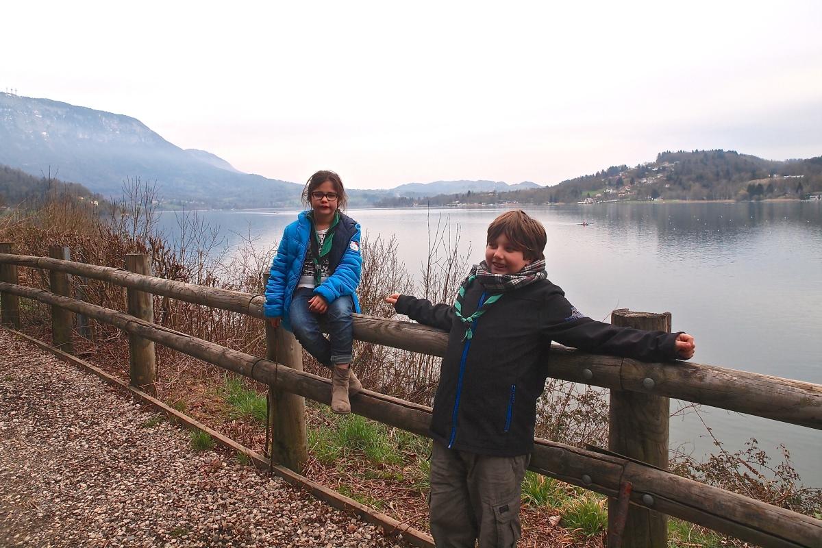 N°17: Lac d'Aiguebelette le 25.03.16: 373 m