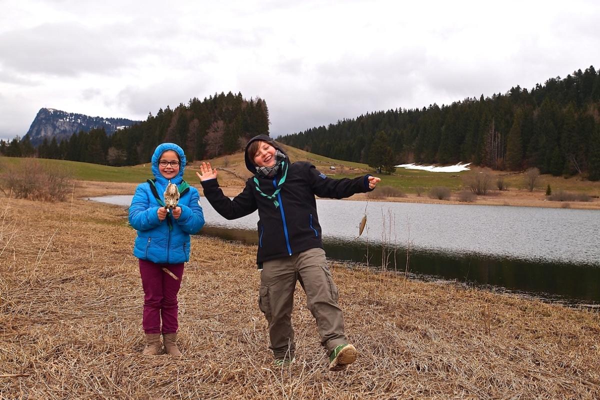 N°21: Lac Ter le 27.03.2016: 1017m
