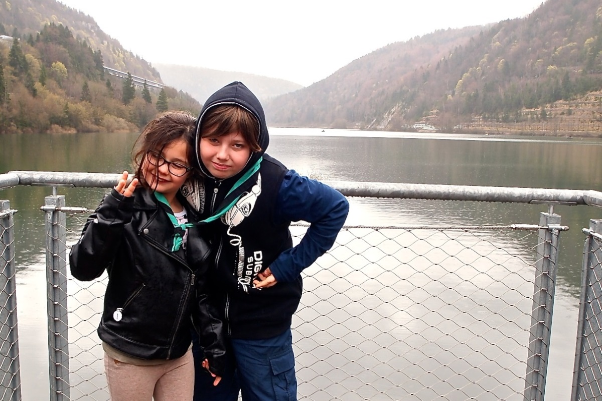 N°26: Lac de Sylans le 07.04.2016: 584 m