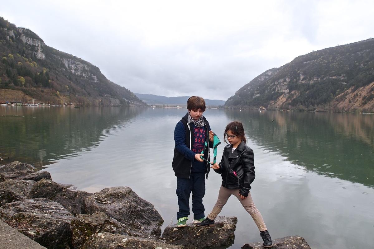 N°27: Lac de Nantua le 07.04.2016 : 475 m