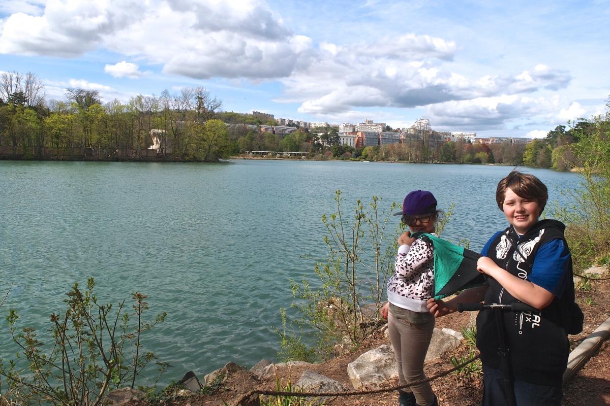 N°28: Lac de la Tête d'Or le 07.04.2016: 170m