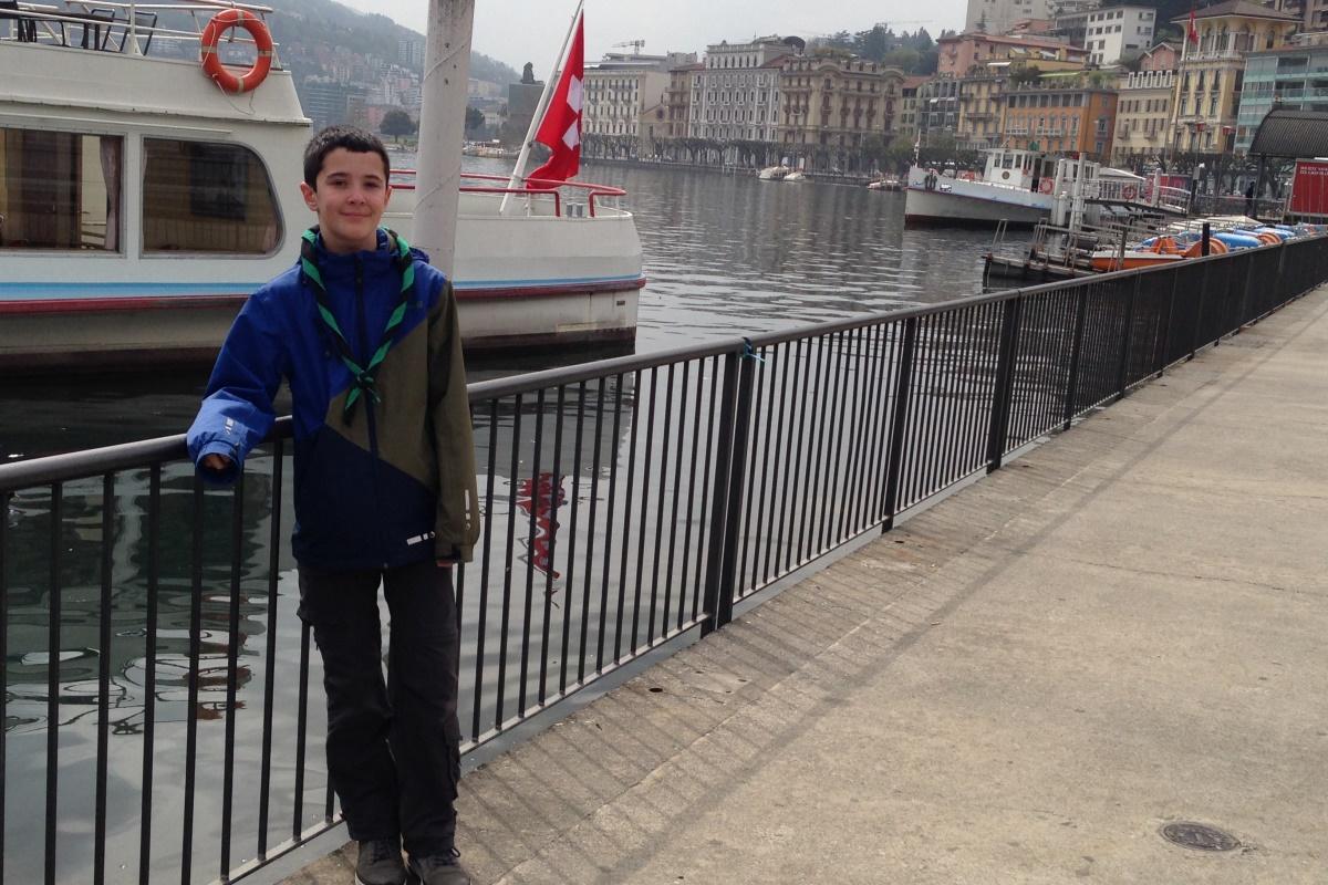 N°30 Lac de Lugano le 05.04.2016: 270m