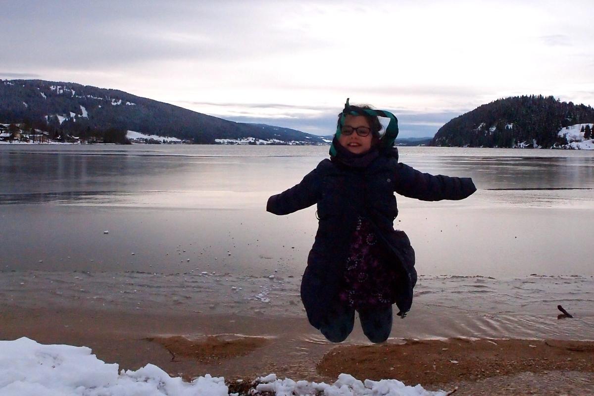 N° 8 : Lac de Joux le 02.03.16: 1004 m