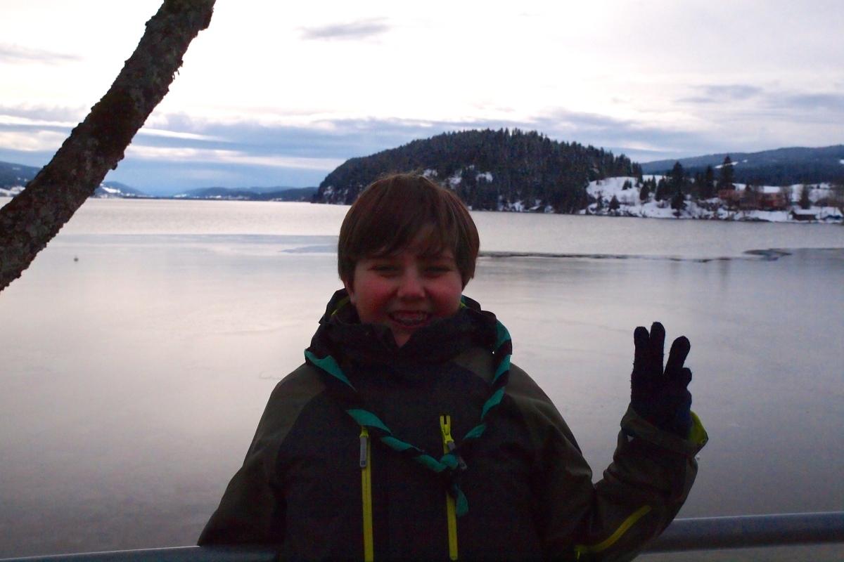 N° 8 : Lac de Joux le 02.03.16 : 1004 m