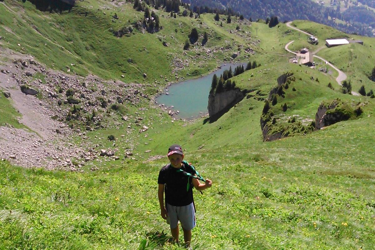 N°40: Lac de Mayen le  17.07.2016: 1824 m